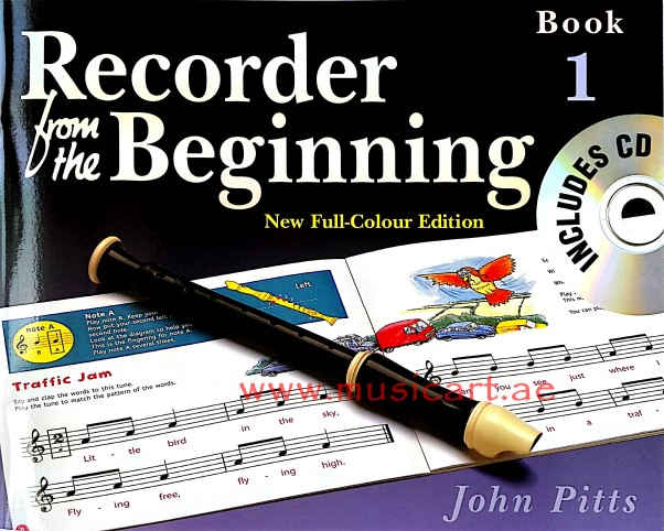Recorder from the Beginning - Book 1: Full Color Edition (Book 1)(With CD)