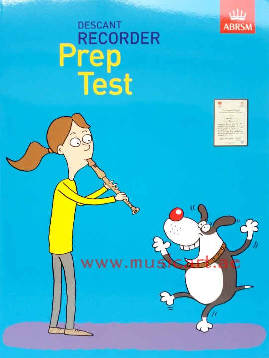 Picture of 'Recorder Prep Test'