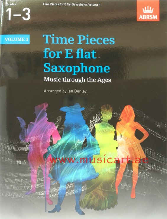 Picture of 'Time Pieces for E Flat Saxophone: Volume 1: Music Through the Ages in 2 Volumes'