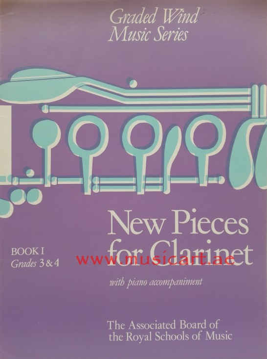 Picture of 'New Pieces for Clarinet, Book I: (grades 3-4) (Book 1)'