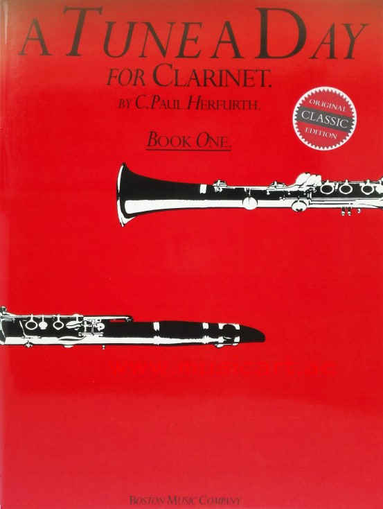 A Tune A Day  for Clarinet Book 1