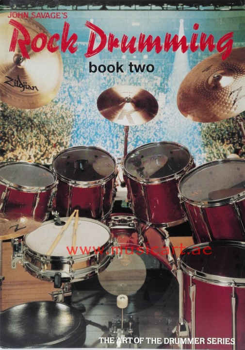 John Savage's Rock Drumming Book 2 Sheet Music for Drums