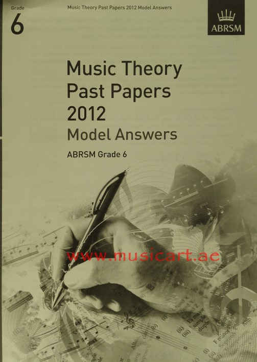 Theory of Music Exam Papers & Answers (ABRSM) - online book