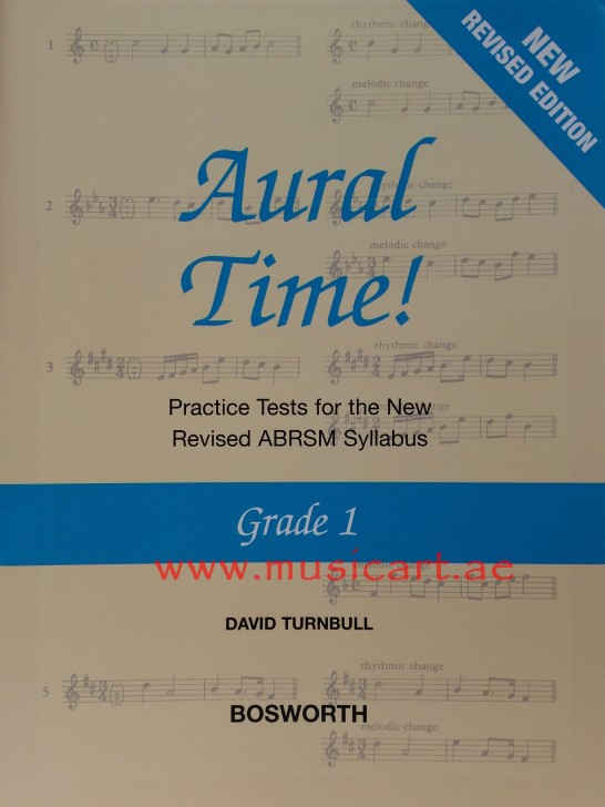 Picture of 'Aural Time! - Grade 1 (ABRSM Syllabus From 2011)'