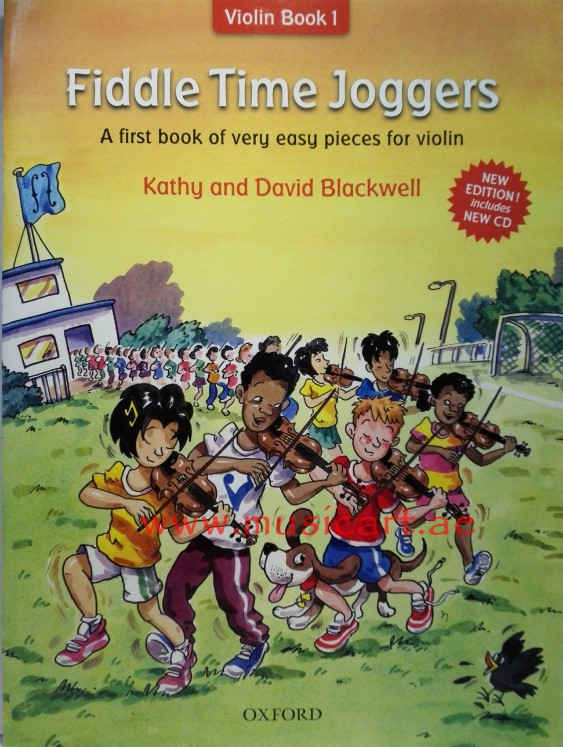 Fiddle Time Joggers, revised edition: A first book of very easy pieces for violin (with CD)