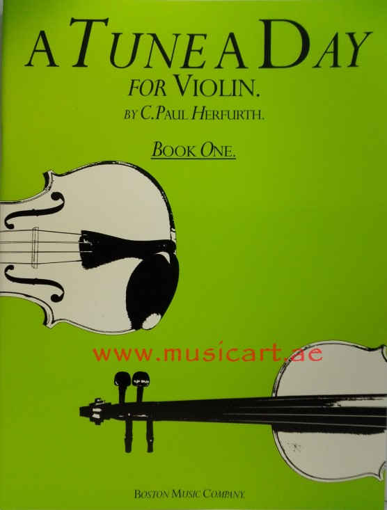 Picture of 'A Tune A Day  for Violin Book 1'