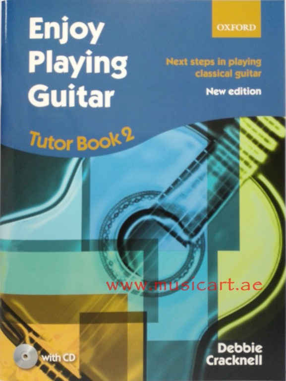 Enjoy Playing Guitar Tutor Book 2 (With CD)