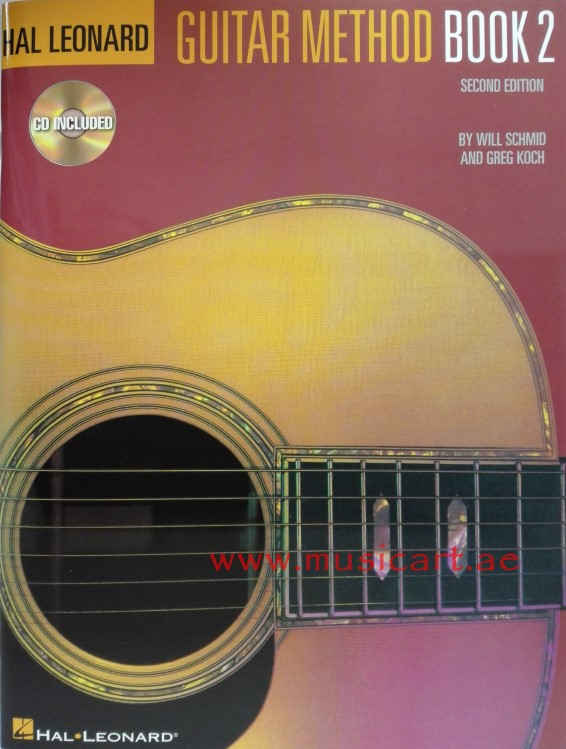 Hal Leonard Guitar Method Book 2 (With CD)