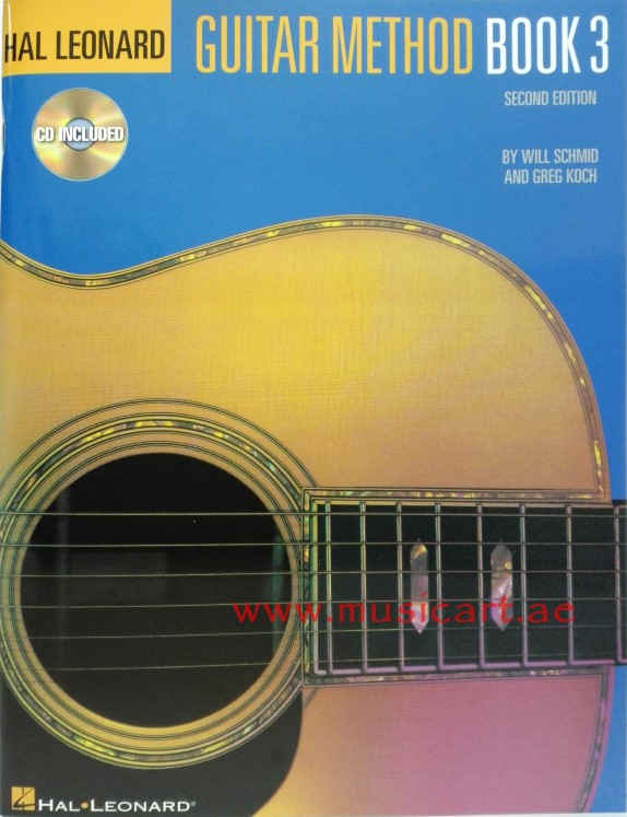 Hal Leonard Guitar Method Book 3 (With CD)
