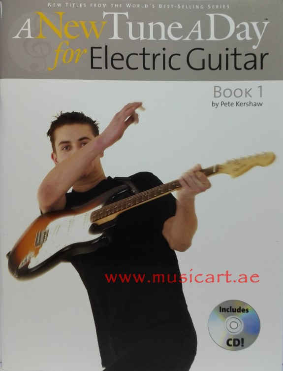 A New Tune A Day for Electric Guitar Book 1(With CD)