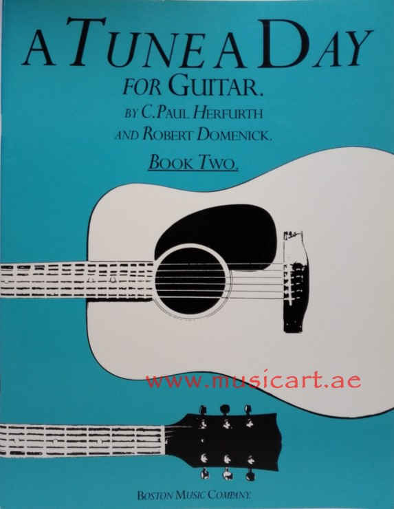 A Tune A Day  for Guitar Book 2: Book 2