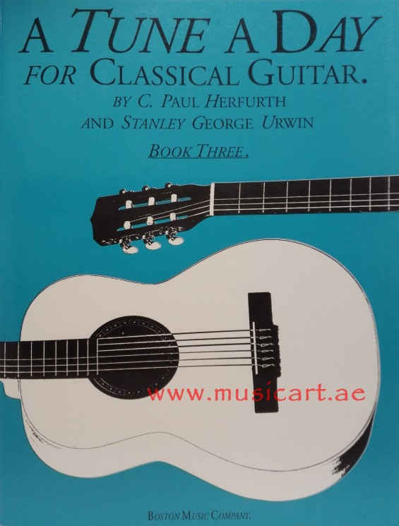 A Tune A Day  for Classical Guitar, Book 3