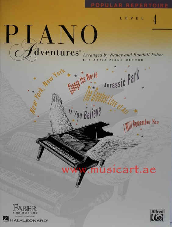 Piano Adventures Popular Repertoire Level 4