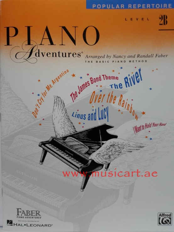 Piano Adventures Popular Repertoire Level 2B