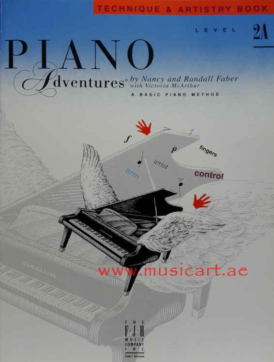 Piano Adventures - Technique & Artistry Book - Level 2A