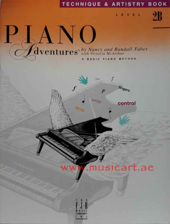 Piano Adventures - Technique & Artistry Book - Level 2B