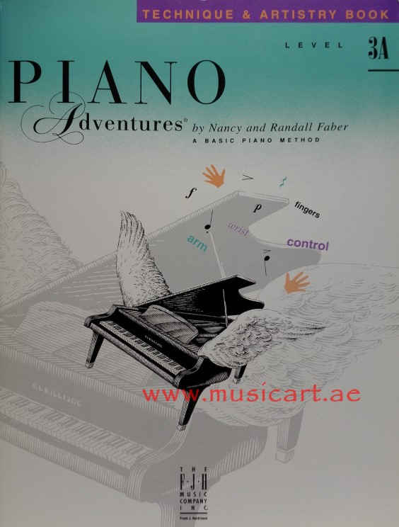 Piano Adventures - Technique & Artistry Book - Level 3A