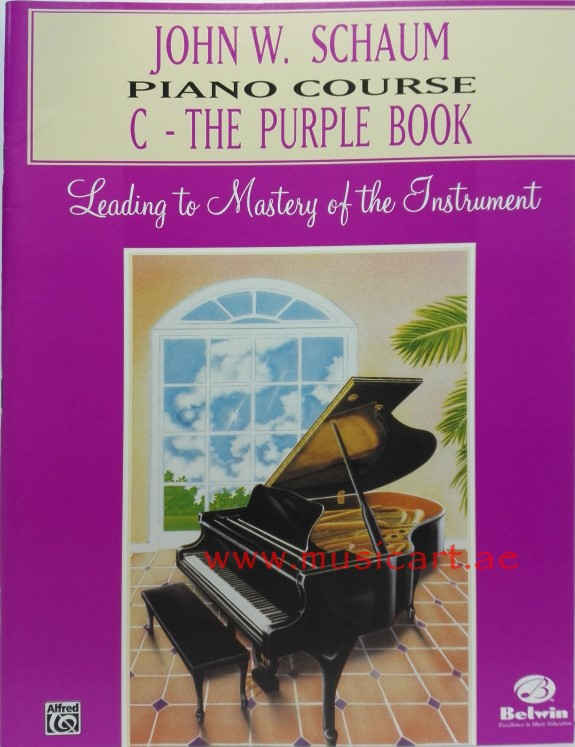John W. Schaum Piano Course: C -- The Purple Book