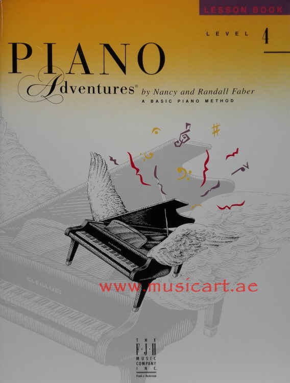 Piano Adventures Lesson Book Level 4