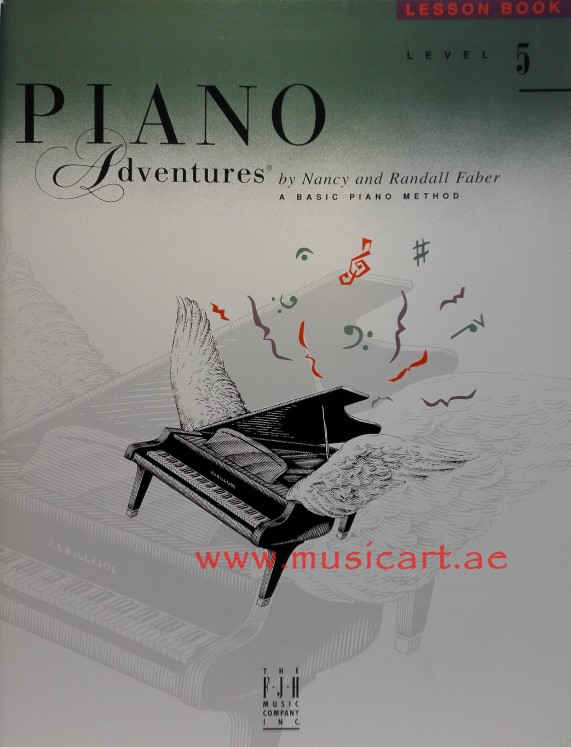 Piano Adventures Lesson Book Level 5
