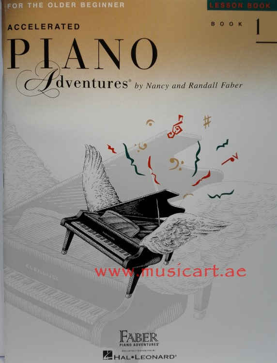Picture of 'Accelerated Piano Adventures Lesson Book 1'