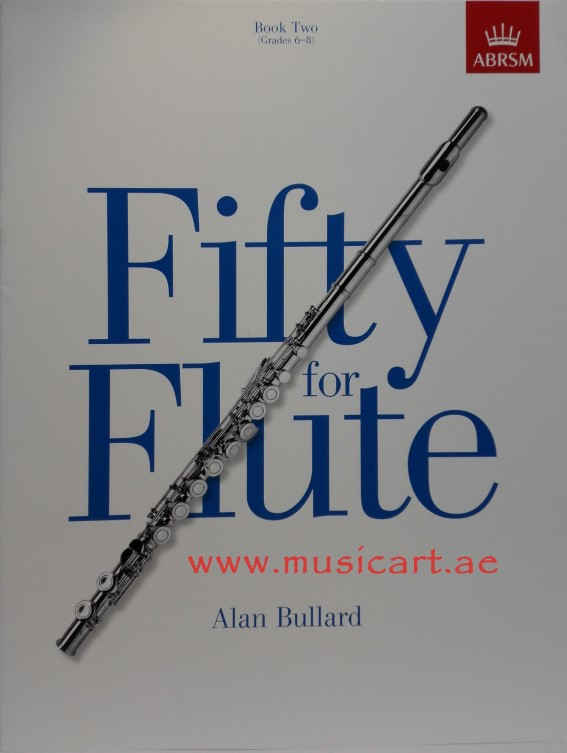 Picture of 'Fifty for Flute, Book 2: (Grades 6-8) (Book 2)'
