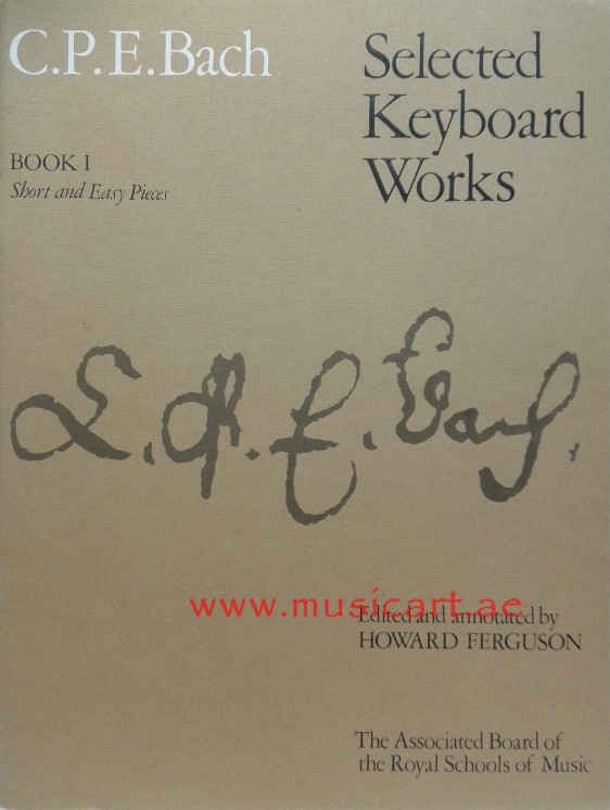 Selected Keyboard Works: Short & Easy Pieces (Book 1)