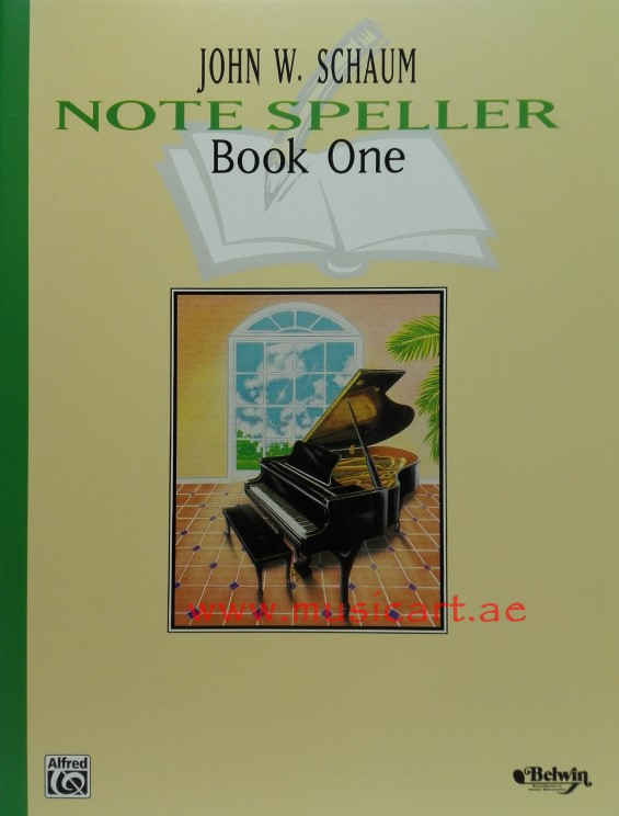Picture of 'Schaum Note Speller Book 1 (Schaum Method Supplement)'