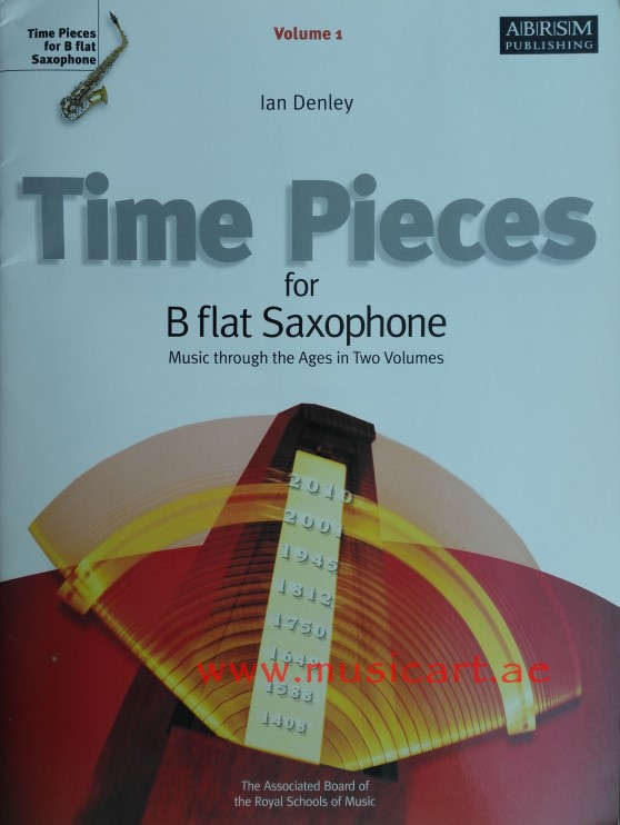 Picture of 'Time Pieces for B Flat Saxophone: Volume 1: Music Through the Ages in 2 Volumes'