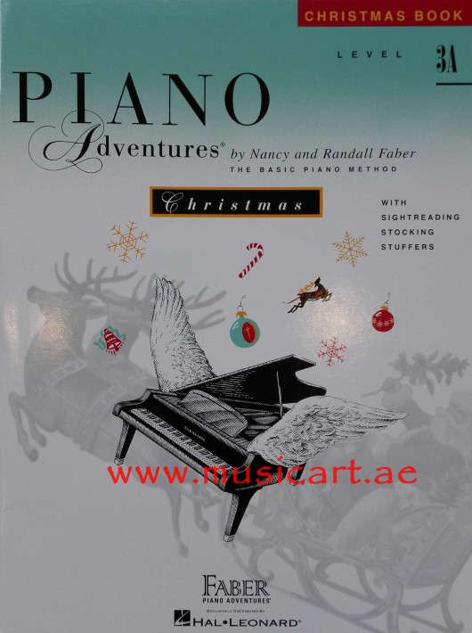 Piano Adventures - Christmas Book - Level 3A