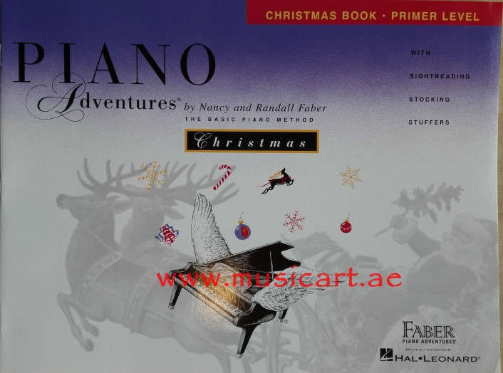 Piano Adventures - Christmas Book - Primer Level