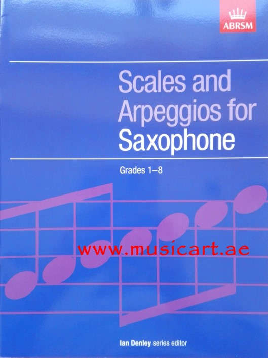 Picture of 'Scales and Arpeggios for Saxophone, Grades 1-8'
