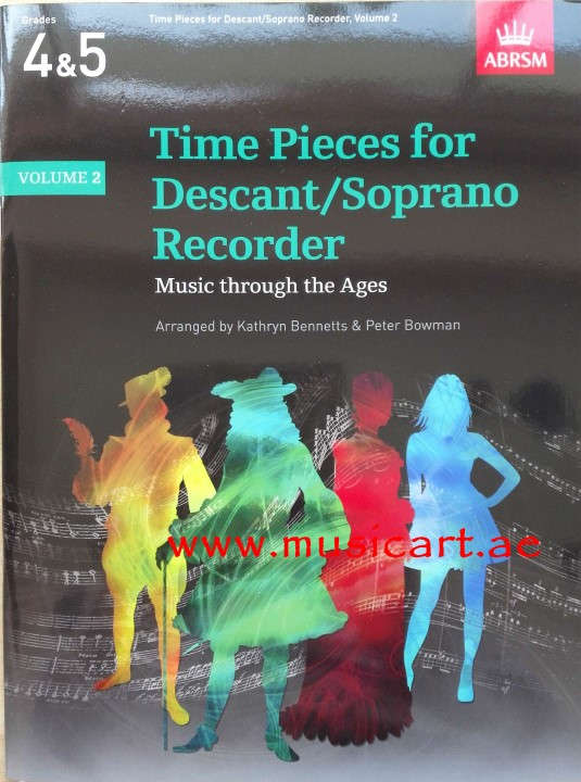 Picture of 'Time Pieces For Descant/Soprano Recorder - Volume 2'