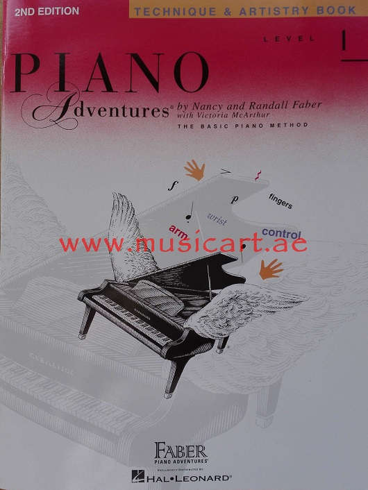 Piano Adventures - Technique & Artistry Book - Level 1 (2nd Edition)