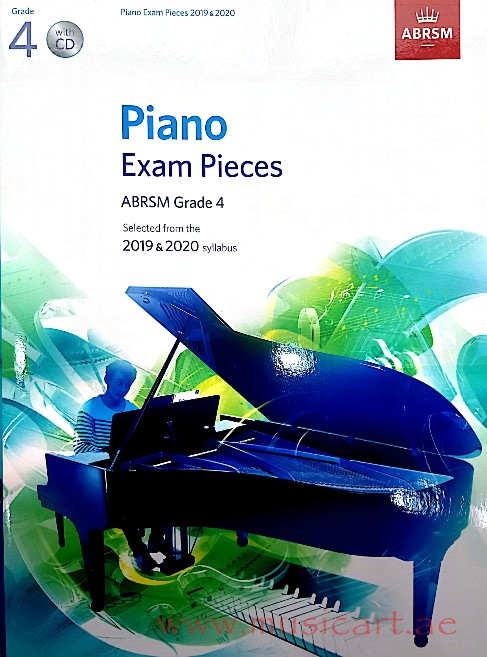 Picture of 'Piano Exam Pieces 2019 & 2020, ABRSM Grade 4, with CD'