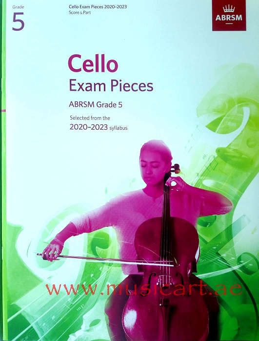 Picture of 'Cello Exam Pieces 2020-2023, ABRSM Grade 5, Score & Part, Selected from the 2020-2023 syllabus'