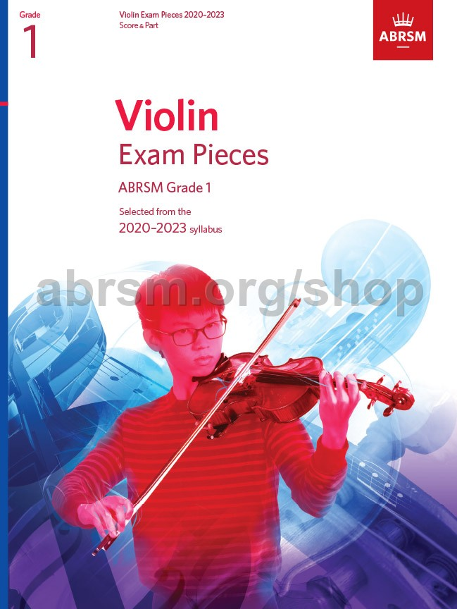 Picture of 'Violin Exam Pieces 2020-2023, ABRSM Grade 1'
