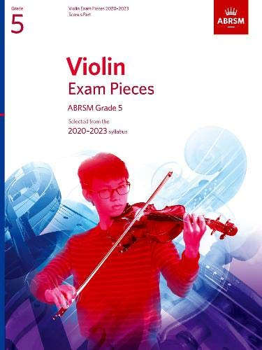 Picture of 'Violin Exam Pieces 2020-2023, ABRSM Grade 5'