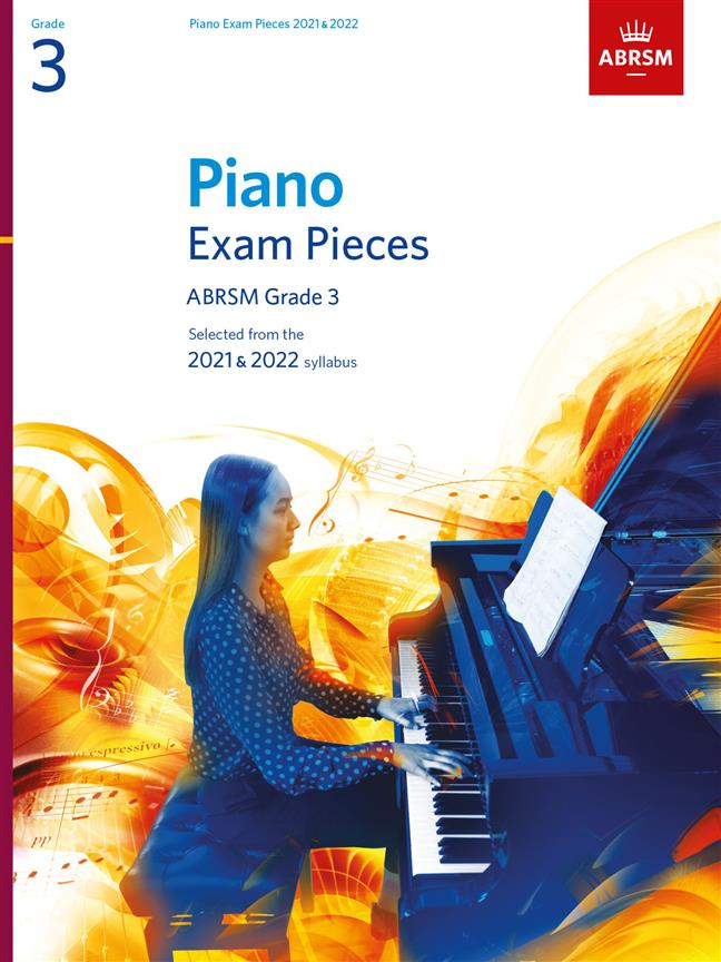Picture of 'Piano Exam Pieces 2021 & 2022, ABRSM Grade 3'