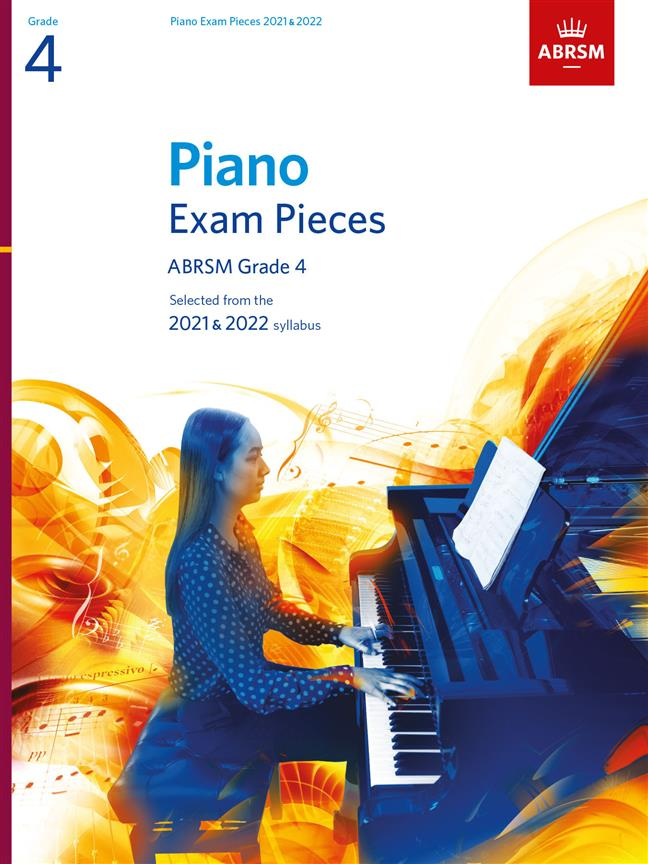 Picture of 'Piano Exam Pieces 2021 & 2022, ABRSM Grade 4'