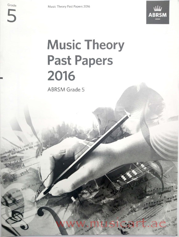 Picture of 'Theory Past Papers 2016 G5'