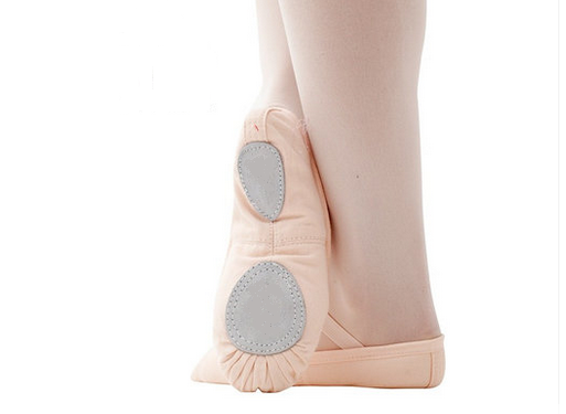 Picture of 'Pink Split sole ballet shoes Canvas size 23--32'