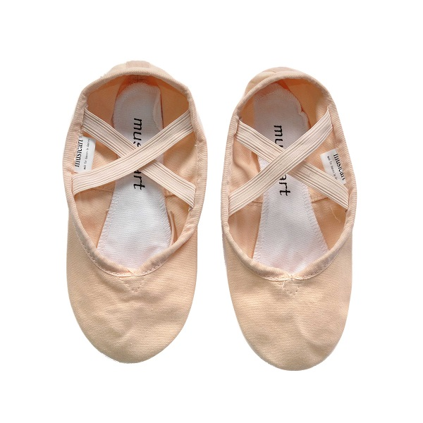 Picture of 'Pink Full Sole Ballet Shoes Canvas Size 33--39'