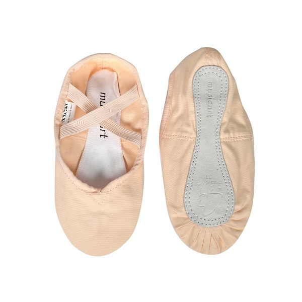 Picture of 'Pink Full Sole Ballet Shoes Canvas Size 23--34'