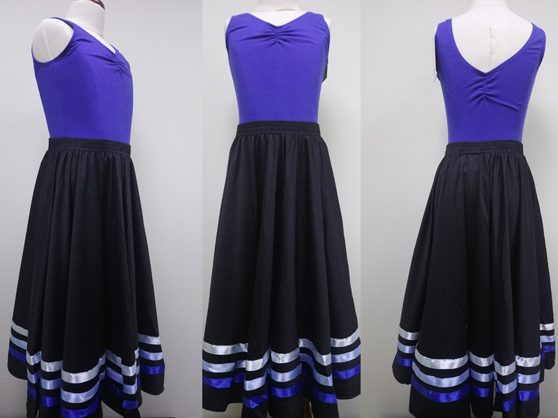 Picture of 'Blue Ribbon Character Skirt for RAD Ballet Exam Grade 3-5'