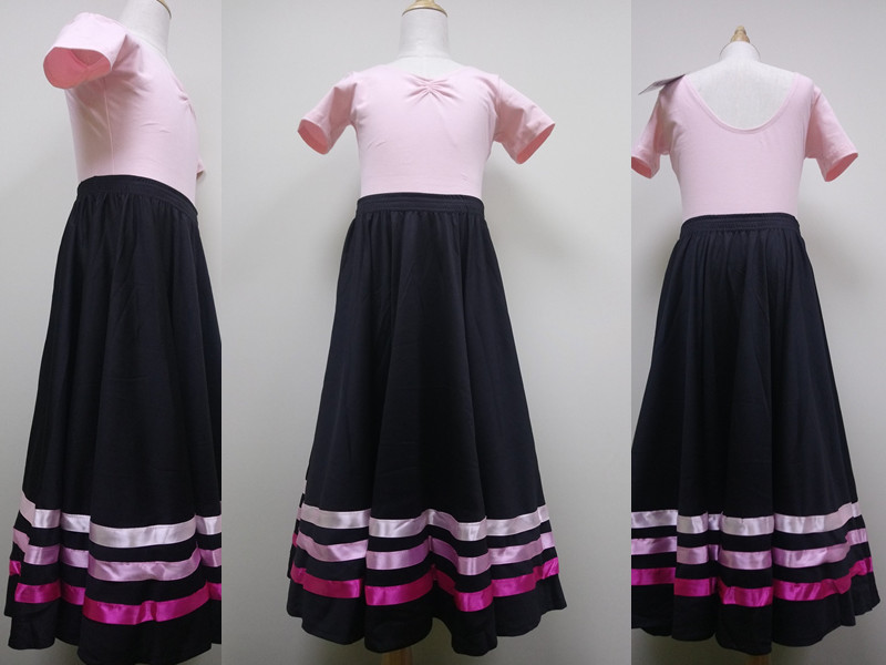 Pink Ribbon Character Skirt for RAD Ballet Exam Grade 1-2 | Online