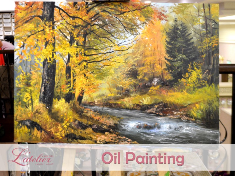 Oil Painting Lessons for Adults Sunday Class C 19:00-21:00