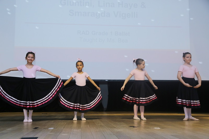 IMI 2019-2020 Term1 RAD Grade 1 Ballet Lesson