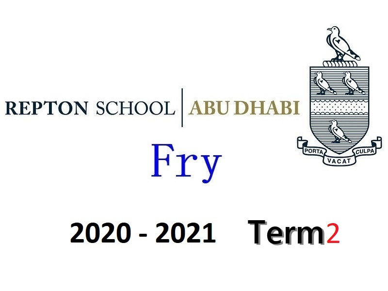 Repton Fry Individual Piano Lesson 2020-2021 Term2